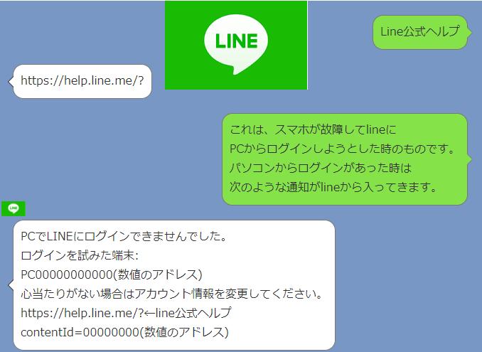 公式 line ログイン